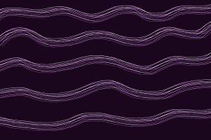 Magenta lines on black background