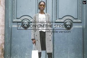 20 Fashion On the Street LRPresets