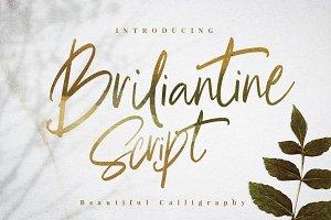Briliantine Script (Intro 30% OFF)