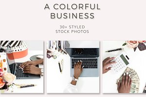 Colorful Business (30+ Stock Photos)