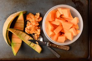 Cantaloupe Bowl Rinds