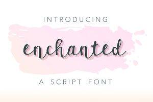 Enchanted: A Script Font