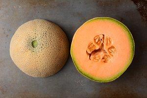 Cantaloupe Halves