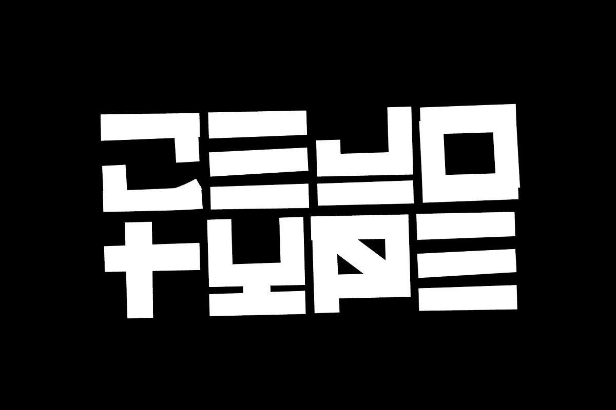 Cejo Type - Urban Graffiti Font