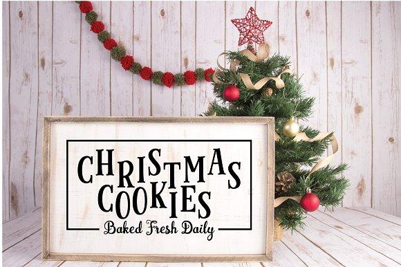 Farmhouse Christmas Svg Bundle Pre Designed Photoshop Graphics Creative Market