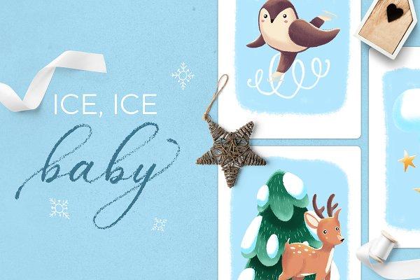 Ice Ice Baby • winter scene creator