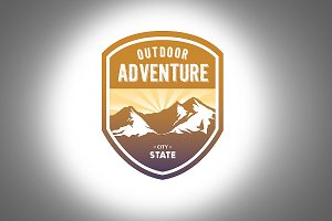 Outdoor Adventure Logo Template