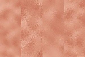 4 Copper Foil Textures