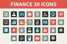 Finance 30 Vector Icons