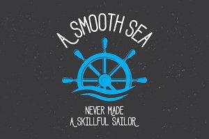 A smooth sea