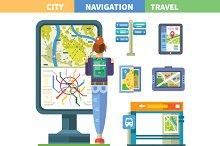 Navigating the city