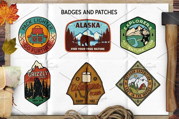 Retro Camp Badges / Patches. Part 2