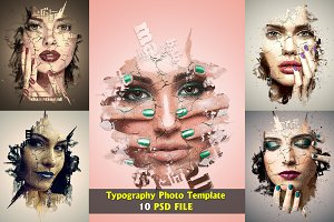 Typography Photo Template