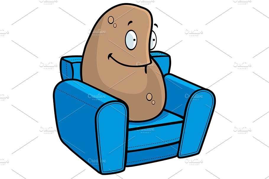 Save. Couch Potato