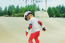 Kid become a pro skateboarder by  in Sports
