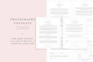 Wedding Photographer Contract Form