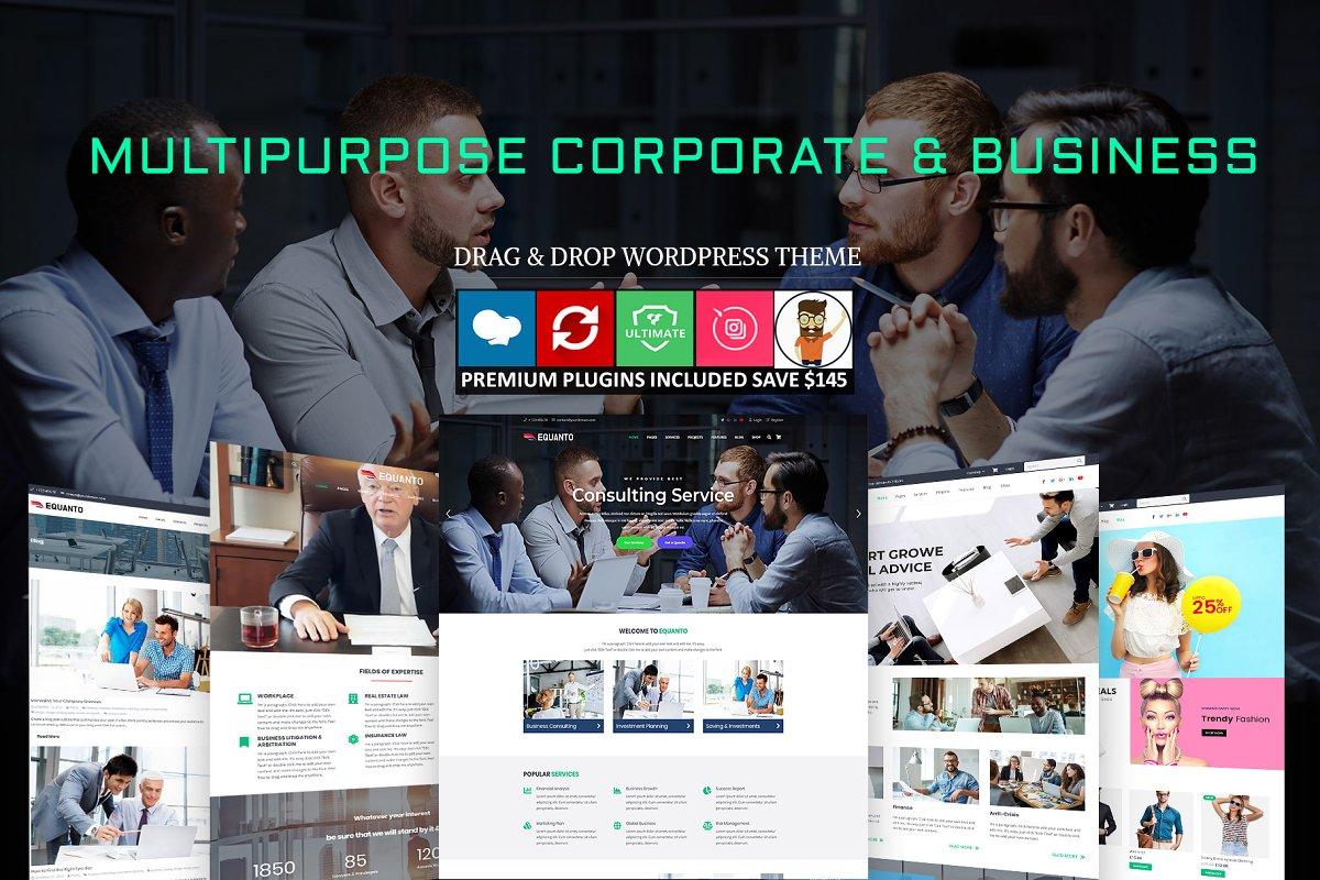 Equanto - Corporate & Business Theme