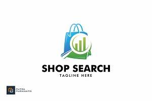 Shop Search - Logo Template