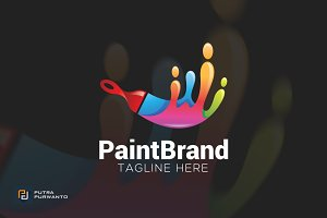Paint Brand - Logo Template