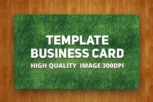 Template business card