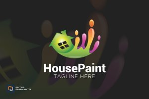 House Paint - Logo Template