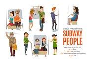 Subway People Set