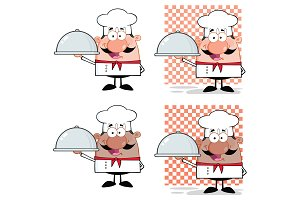 Chef Cartoon Character Collection -2