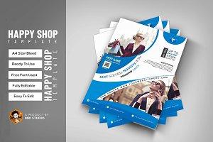 Fashion Shop Flyer Template