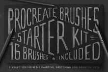 Procreate Brushes Starter Kit by  in Brushes