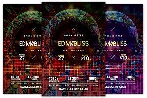 EDM Bliss Flyer