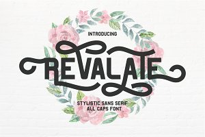 Revalate - Stylistic Sans Serif