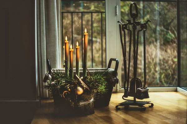 Holiday Stock Photos: VICUSCHKA - Atmospheric Christmas time at home