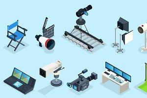 Isometric Cinematography Elements