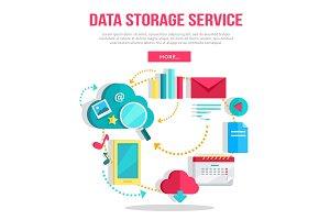 Data Storage Service Banner