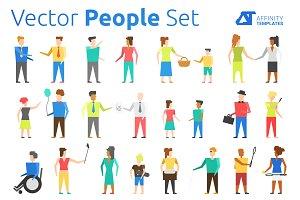 Vector People Set Affinity Designer