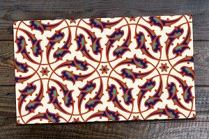Iznik Floral Seamless Pattern