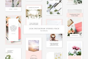 Sun Instagram Stories Pack