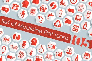 105 medicine icons