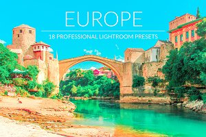 Europe Lr Presets