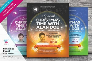 Christmas Event Flyer Template v.02