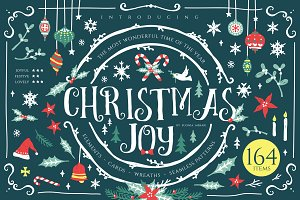 Christmas Joy - Cute Graphic Pack