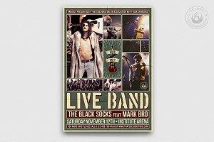 Live Concert Flyer Template V6