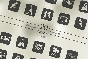 20 news icons