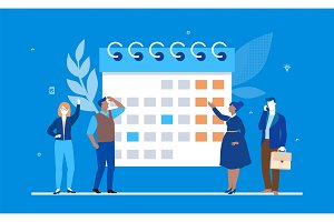 Business planning - illustration