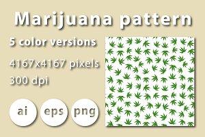 Marijuana pattern
