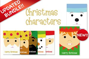 New Christmas characters pack