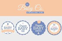 Baby Co. Vector Badge Bundle, Vol 1