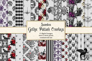 Gothic Pattern Overlays