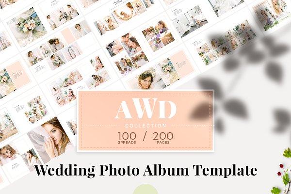 wedding album template