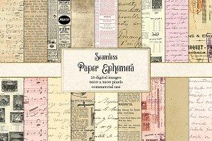 Paper Ephemera Seamless Textures